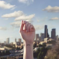Tiny Tattoos With Parallel Backgrounds – Fubiz™