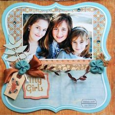 My Girls -June Little Red Kit with Pink Paislee by scrapmamato3 @2peasinabucket