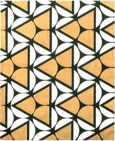 Varvara Stepanova geometric abstract art beige