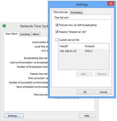 Network Time System - Free download and software reviews