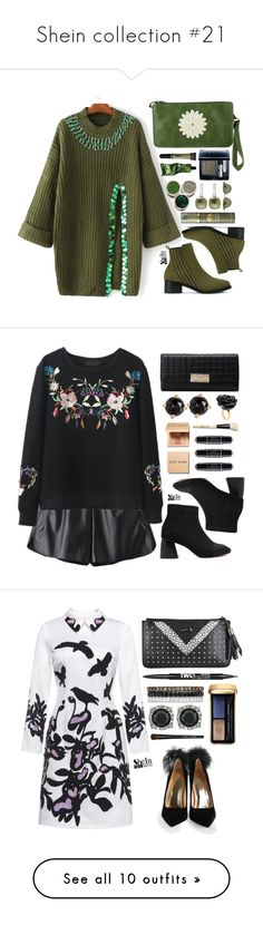 """""""Shein collection #21"""" by simona-altobelli ❤ liked on Polyvore featuring Christian Dior, Origins, Aesop, Pomellato, Oliver Peoples, WithChic, Bobbi Brown Cosmetics, Irene Neuwirth, Nach Bijoux and Charlotte Russe"""