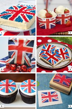 Union Jack party ideas - for a positively smashing British theme party!