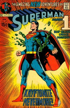 Superman #233 (1971). Cover art: The astonishing Neal Adams.