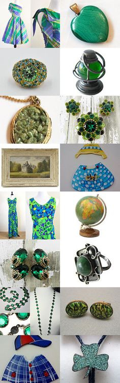 Breath of Spring  Hello! ☀ ❀ ☼ by Dorota and Monika on Etsy--Pinned+with+TreasuryPin.com Vintage Vogue Fashion, Gift Ideas, Spring, Gifts, Etsy, Presents, Favors, Gift