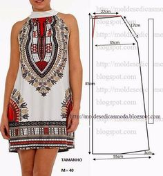 Sewing patterns clothes how to make 59 best ideas Diy Clothing, Sewing Clothes, Clothing Patterns, Dress Patterns, Sewing Patterns, Diy Kleidung, Creation Couture, Diy Fashion, Fashion Design
