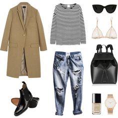 "MINIMAL + CLASSIC: ""Parisian Chic"" by fashionlandscape"