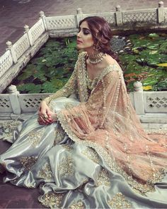 Nikkah Dress, Shadi Dresses, Pakistani Formal Dresses, Pakistani Wedding Outfits, Pakistani Wedding Dresses, Bridal Outfits, Indian Outfits, Desi Wedding Dresses, Trends 2018