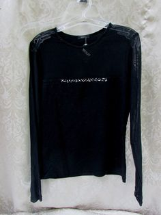 Womens Top Style 4140 Cannes Black NWT Size Small Wolff Outerwear #Wolff #KnitTop #Clubwear