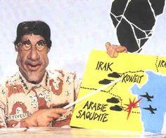 Mr Sylvestre - La Guerre du Golfe (Les Guignols)