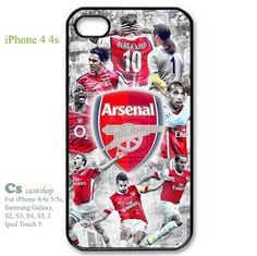 Arsenal FC Soccer Football for Iphone 4 4s Case Cover  | 5STAR - Accessories on ArtFire