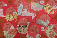 Tea for 2 -- party invitations  :)