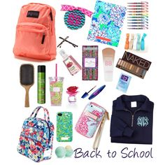 Back to School Essentials 2013 by LaurynTamia