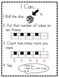 Ten Frame -How many to 10