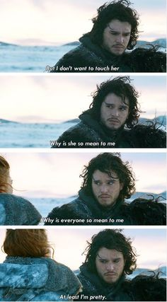 yes you are, Jon............ yes you are. #GOT #Ygritte #stark
