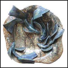 Fish Bowl by Maggie Betley Zoo Ceramics