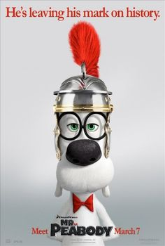 MR. Peabody & Sherman Title: Mr. Peabody &... - Movies & Shows That Rock