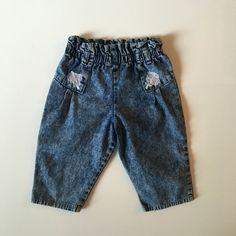 Vintage 80's Acid Wash Baby Jeans for sale here https://www.etsy.com/listing/474742003/vintage-80s-acid-wash-denim-wide-leg?ref=shop_home_active_19 #vintage #babyvintageclothes #vintagebabyclothes #baby #babyclothesforsale #vintagebaby #vintagestyle #vintagebabystyle #babystyle #babyclothes #estyshop #estyvintage #etsyvintageshop