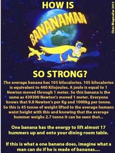 Bananaman to the rescue!