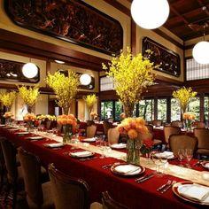 結婚式場写真「【淀川邸】「羽衣の間」 日本の伝統と西洋の気品が見事に調和した大正ロマン溢れる逸室 」 【みんなのウェディング】