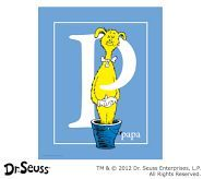 Dr. Seuss™ Alphabet Prints, Letter P