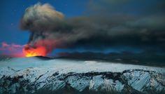 Le volcan Eyjafjallajökull, en Islande from National Geographic