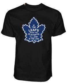 bd0c99f92 OUT FOR A RIP - B RICH 'JUMP IN THE LAKE' HOCKEY T-SHIRT. HockeyClothing  ApparelT ShirtCanadaToronto Maple LeafsFunMichiganCollectionAccessories