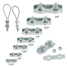 Stainless Steel US Type Wire Rope Clip (Stainless Steel Cable Clamp ...