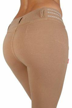 U-Turn Style 381 - Brazilian style butt lifting, Levanta cola, Knit poly cotton fashion Moleton, skinny leg in Beige U-Turn Jeans,http://www.amazon.com/dp/B00ABNQAF0/ref=cm_sw_r_pi_dp_kUnTsb1BA5MRQJFR