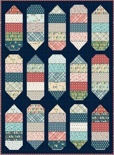 Cowabunga - Free Quilt Pattern - Layer Cake - Surf - Ocean - Beach - Riley Blake - Offshore