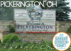 28. Pickerington  This centrally located suburb of Columbus is officially the Violet Capital of Ohio. When the violets are in bloom, there's no more beautiful spot in Ohio!