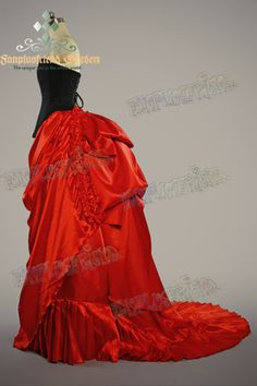 fanplusfriend - Gothic Victorian Rococo Drop Bustle Absinthe Long Skirt, $123.60 (http://www.fanplusfriend.com/gothic-victorian-rococo-drop-bustle-absinthe-long-skirt/)