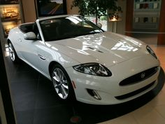 The beautiful Jaguar XK convertible oh how I really want one of these on my drive pleeeeese !