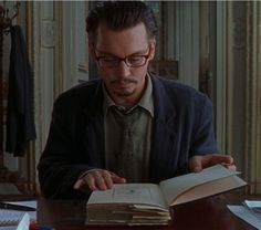 Johnny Depp reading