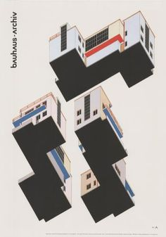 farbplan von alfred arndt 1927 » Bauhaus Archiv »