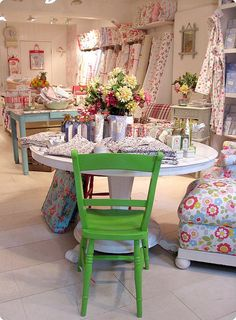 Love Cath Kidston. I look forward to the day I step foot in her store in London.