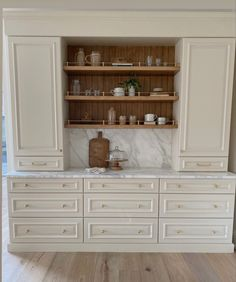 Built In Cabinets, Kitchen Cabinetry, Beautiful Kitchens, Built Ins, Home Remodeling, Shelving, Bookcase, House Design, Interior