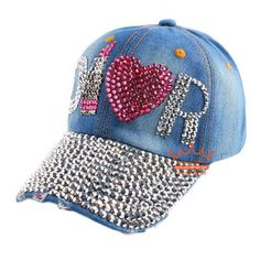 14dbc72d51e Beauty caps new design popular women rhinestone star denim baseball cap  fashion brand woman jean