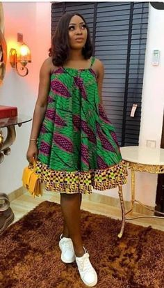 African Dresses For Kids, Latest African Fashion Dresses, African Dresses For Women, African Print Dresses, African Print Fashion, African Attire, Ankara Fashion, Ankara Dress Designs, Ankara Dress Styles