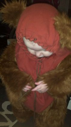 My daughter the Ewok! #thinkgeekoween