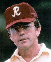 Redskins Coach Joe Gibbs, Hall of Famer