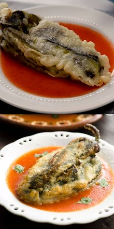 Chiles Rellenos Authentic Vegan Chiles Rellenos, filled with vegan cheese, then battered and fried. Super easy recipe to make!Authentic Vegan Chiles Rellenos, filled with vegan cheese, then battered and fried. Super easy recipe to make! Authentic Mexican Recipes, Vegan Mexican Recipes, Vegan Recipes Videos, Vegan Dinner Recipes, Whole Food Recipes, Cooking Recipes, Healthy Recipes, Fast Recipes, Crockpot Recipes