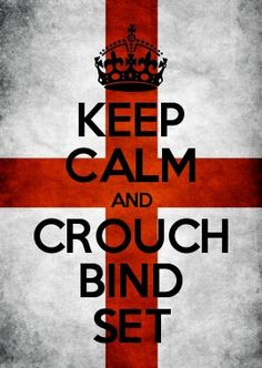 KEEP CALM AND CROUCH BIND SET