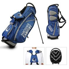 Vancouver Canucks NHL Stand Bag - 14 way (Fairway)