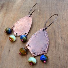 Love My Art Jewelry: Art Jewelry Boot Camp: Balled Headpins Week 2: Rosy Copper Headpins