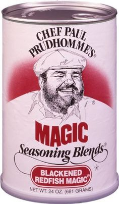 Chef Paul Prudhomme's Magic Seasoning Blends ~ Blackened Redfish Magic, 24-Ounce Canister - http://spicegrinder.biz/chef-paul-prudhommes-magic-seasoning-blends-blackened-redfish-magic-24-ounce-canister/