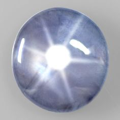 6.35 Cts Natural Lustrous Sharp 6 Rays Unheated Blue Star Sapphire Round Ceylon