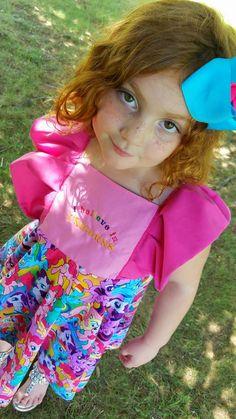 My little pony dress, I believe in unicorns