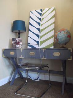 blue campaign desk