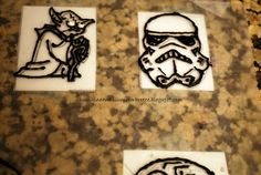 How to frost cupcakes by tracing coloring book pages with frosting!