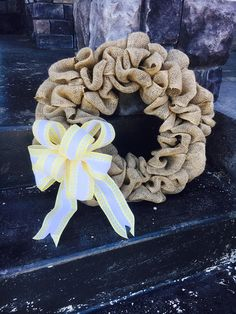 Interchangeable Wreath All Season Wreath Rustic Burlap